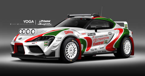 Toyota Gazoo Racing Castrol Supra GT-Four Rally by YogaBudiwCUSTOM
