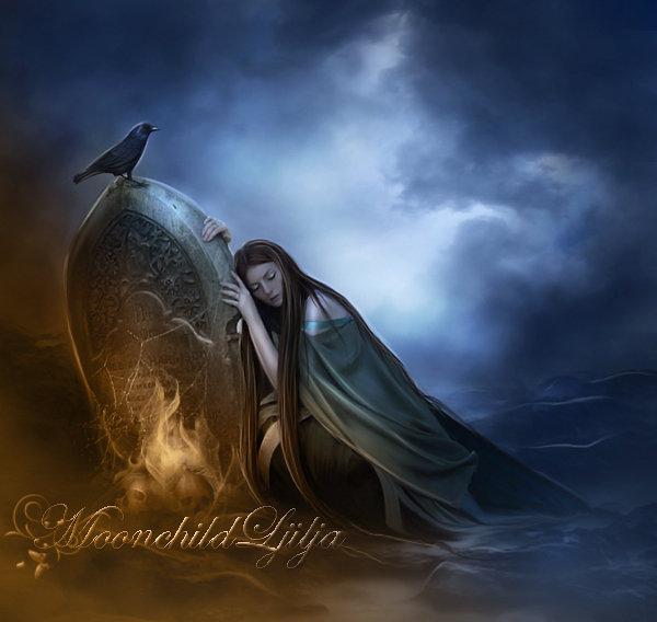 Night Sorrow by moonchild-ljilja
