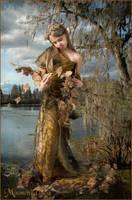 Autumn Princess by moonchild-ljilja