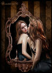 Queen and magic mirror...