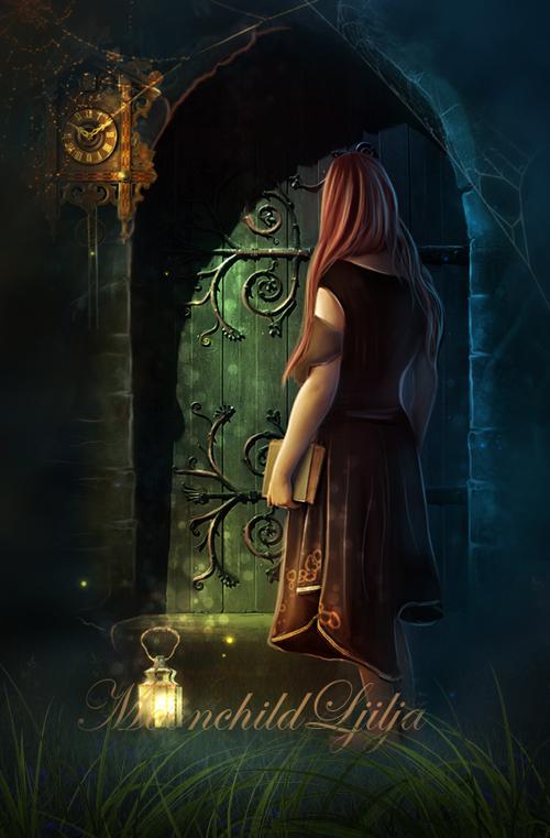 Secret Door In The Wood by moonchild-ljilja