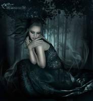In a dark place by moonchild-ljilja
