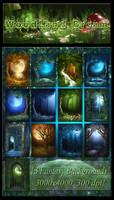 WoodLand Dream backgrounds
