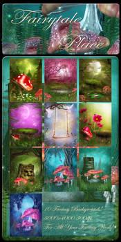 Fairytale Place backgrounds
