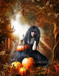 Autumn Fantasy... by moonchild-ljilja