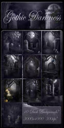 Gothic Darkness backgrounds by moonchild-ljilja