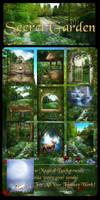 Secret Garden Backgrounds