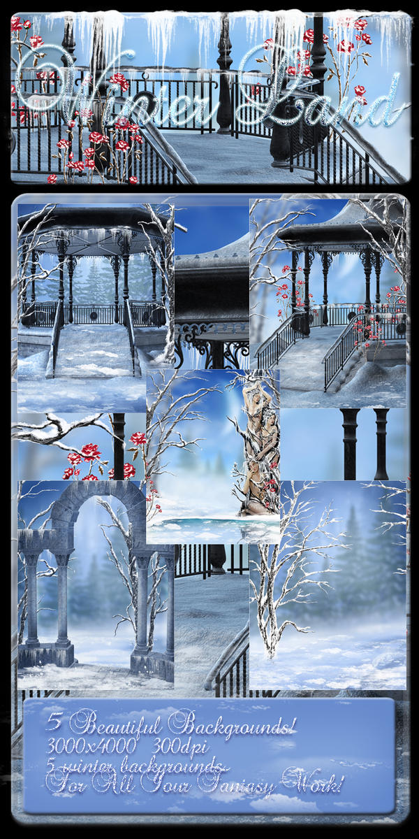 Winter Land small pack by moonchild-ljilja