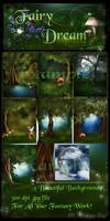 Fairy dream Wood backgrounds