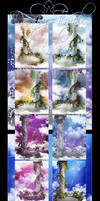 Dreamy Temple backgrounds