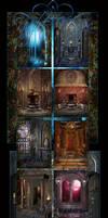 Night Magic backgrounds
