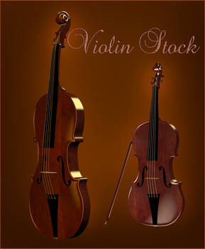 Violin Object png file