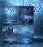 Dark Mist backgrounds by moonchild-ljilja