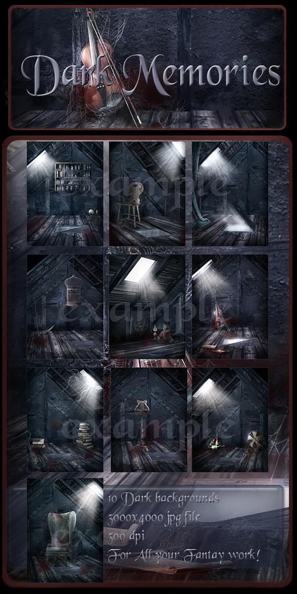Dark Memories backgrounds by moonchild-ljilja