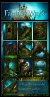 Fantasy Ways backgrounds