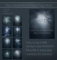 Video tut-made foggy wood by moonchild-ljilja