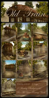 Old Train backgrounds