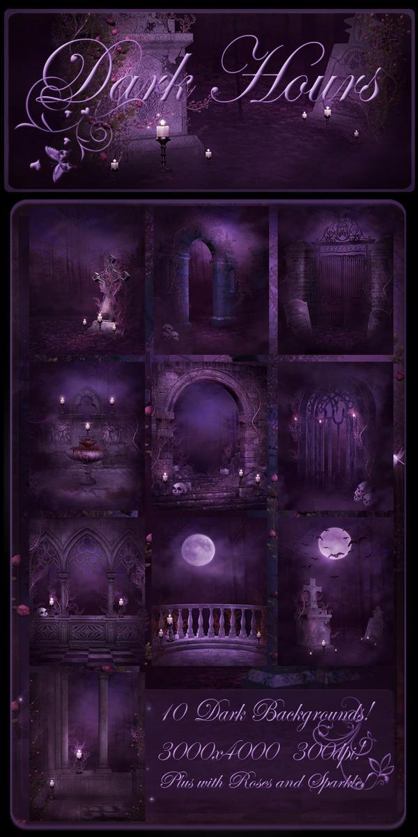 Dark Hours backgrounds by moonchild-ljilja