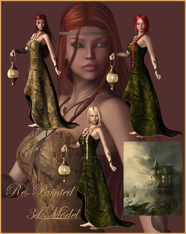 Re-painted Fairy's by moonchild-ljilja