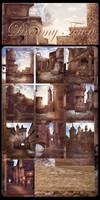 Dreamy Town backgrounds by moonchild-ljilja
