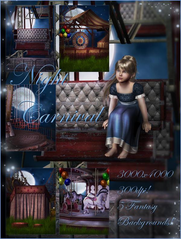 Night Carnival small pack by moonchild-ljilja