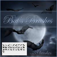 Bat's brushes by moonchild-ljilja