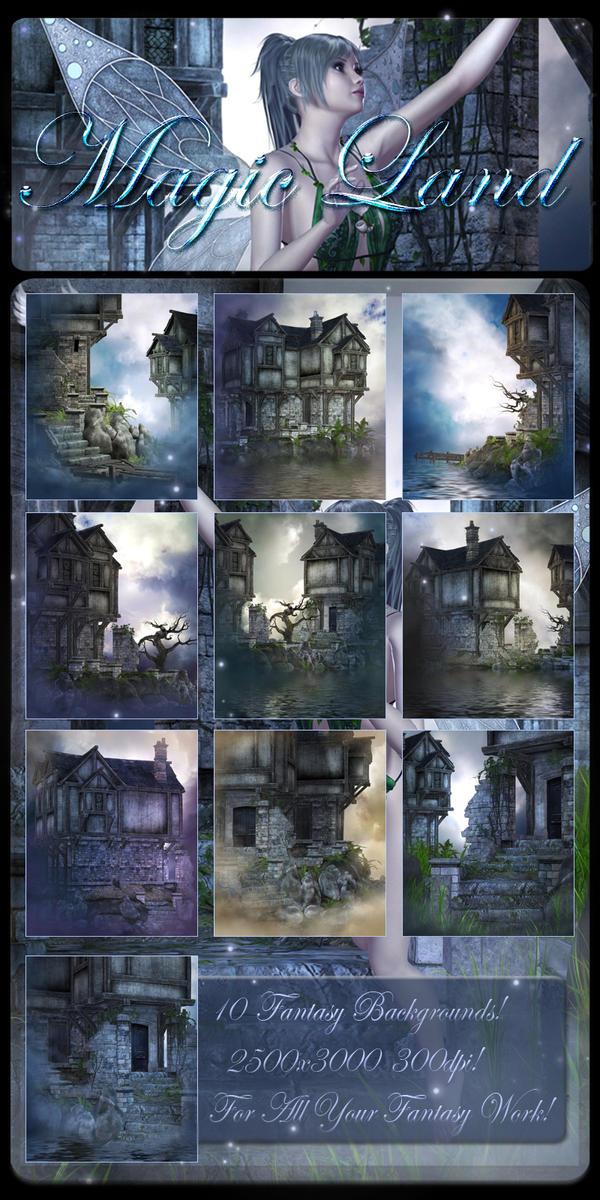 Magic land backgrounds by moonchild ljilja on deviantart - Magic land wallpaper ...