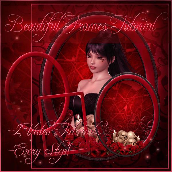 Beautiful Frames Tutorial by moonchild-ljilja