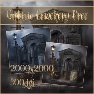 Gothic Cemetery Free