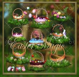 Easter Magic  png by moonchild-ljilja