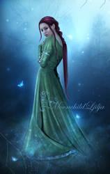 Foggy Magic Wood by moonchild-ljilja