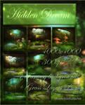 Hidden Dream backgrounds by moonchild-ljilja