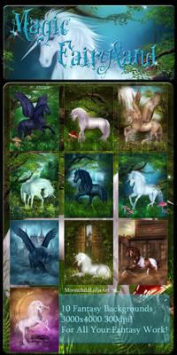 Magic FairyLand backgrounds