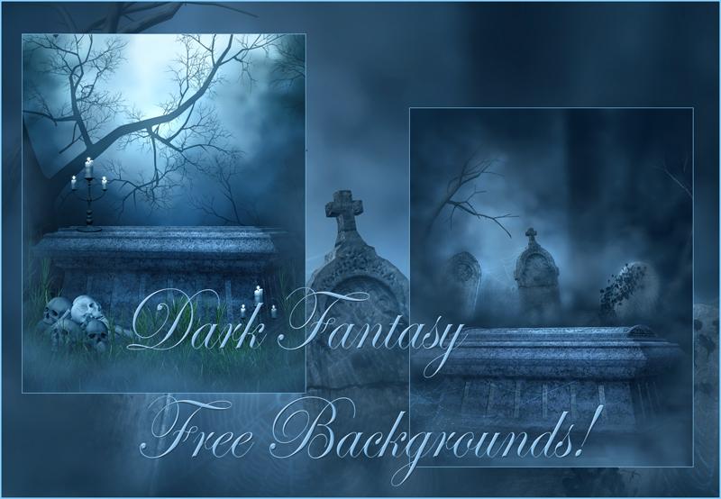 Dark Fantasy Free backgrounds by moonchild-ljilja