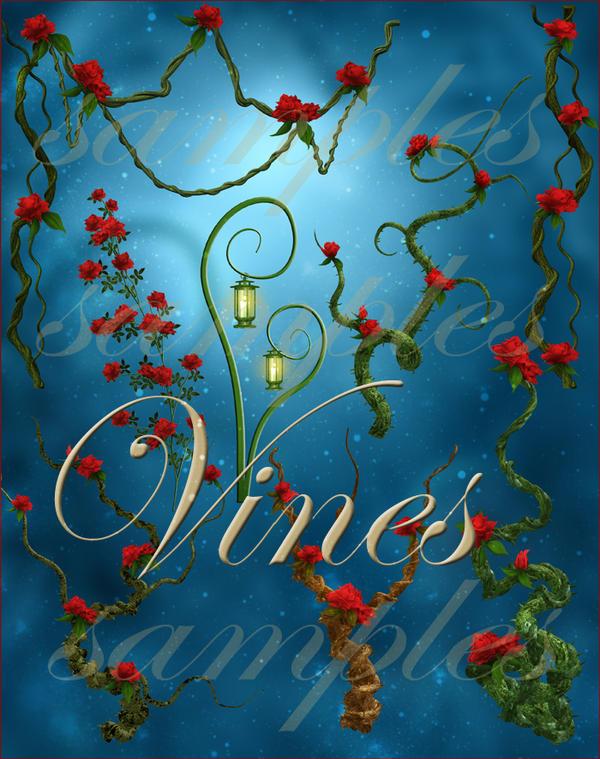 rose and vine wallpaper-#35