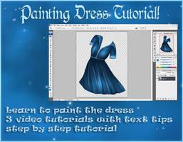 Painted Dress Tutorial