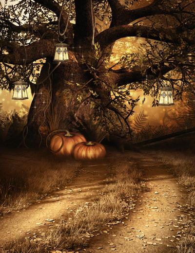 Autumn Magic free background by moonchild-ljilja