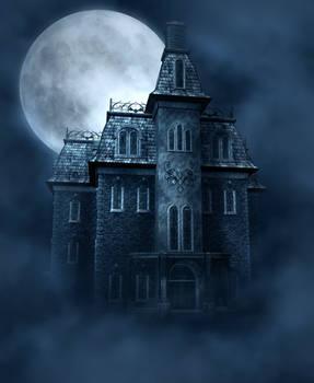 Haunted House free background