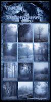 Winter DreamLand backgrounds by moonchild-ljilja