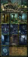 Hidden World backgrounds