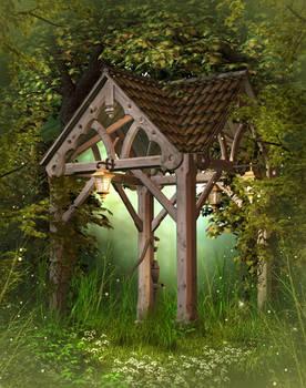 Fantasy Wood free image
