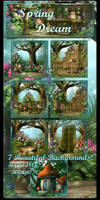 Spring Dream backgrounds