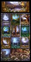 Moonlight Romance backgrounds