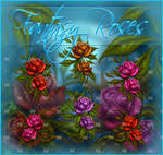 Fantasy Painted Roses