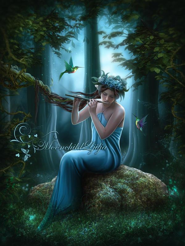 Forest Magic by moonchild-ljilja
