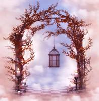 In the Clouds free background by moonchild-ljilja