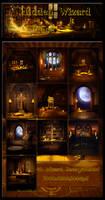 Hidden Wizard Place Backgrounds