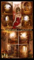 Autumn Garden Backgrounds by moonchild-ljilja
