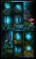 Elven Forest 2 backgrounds
