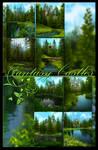 Fantasy Castles Backgrounds